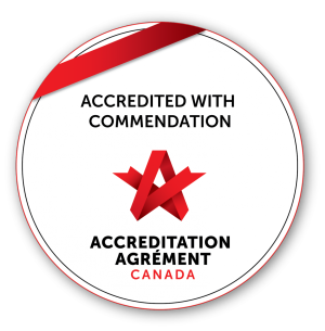 Accredited With Commendation Logo